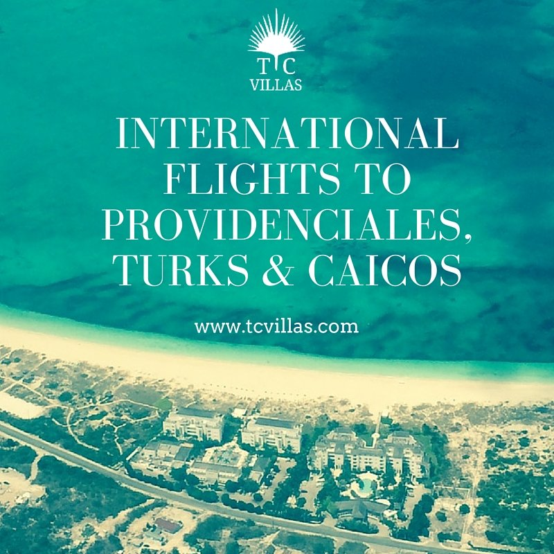 Internationalflights toprovidenciales,Turks & caicos