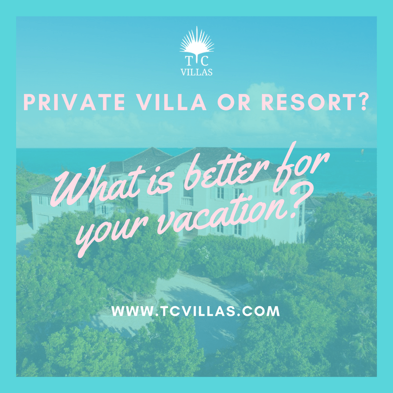 Private villa or resort,