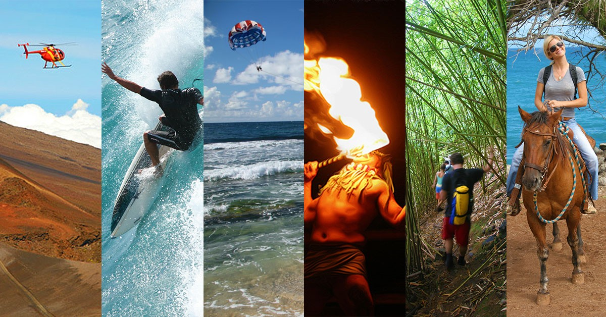 Activities in Maui