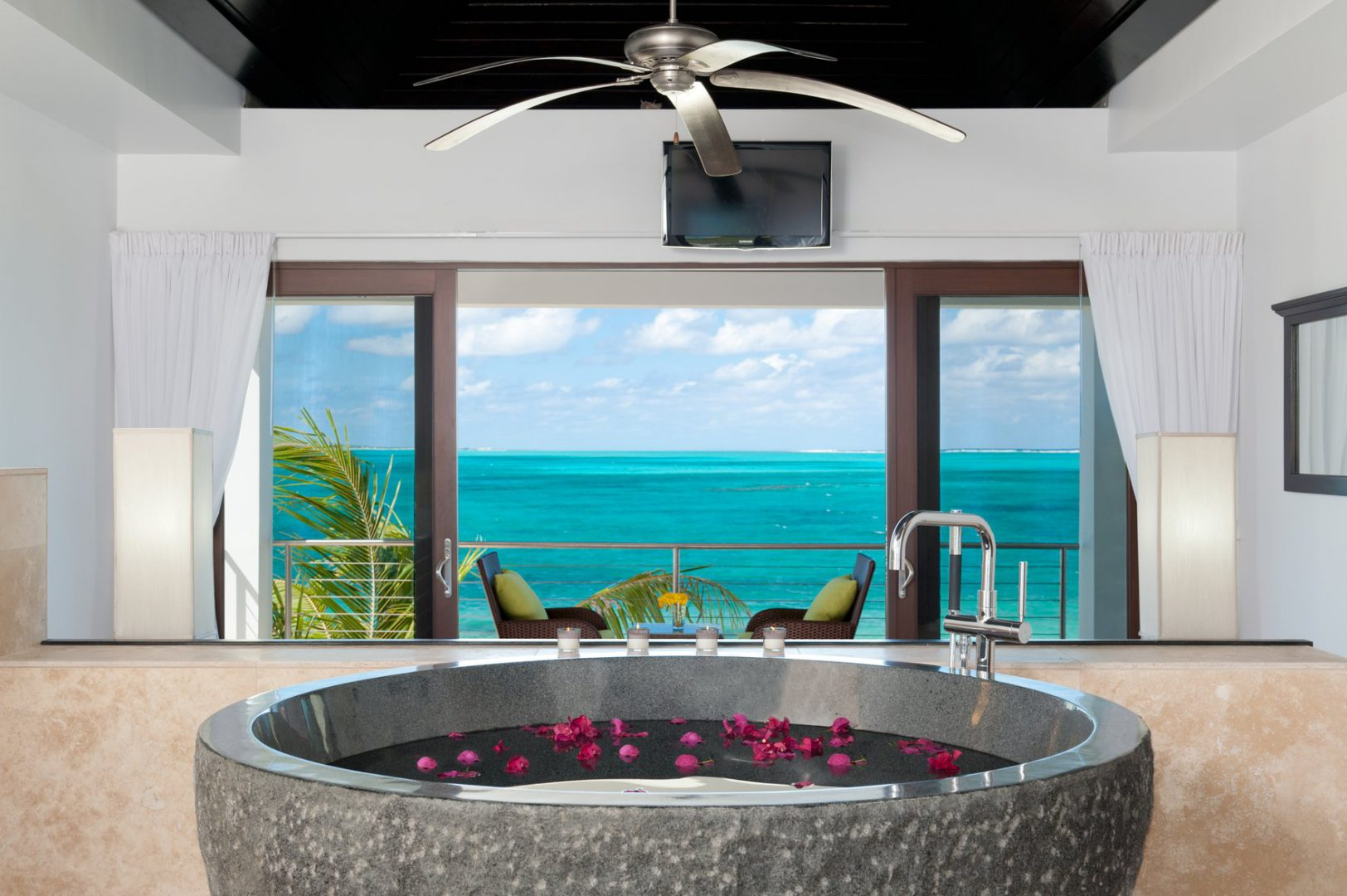 Ocean Edge Villa on Providenciales Turks and Caicos