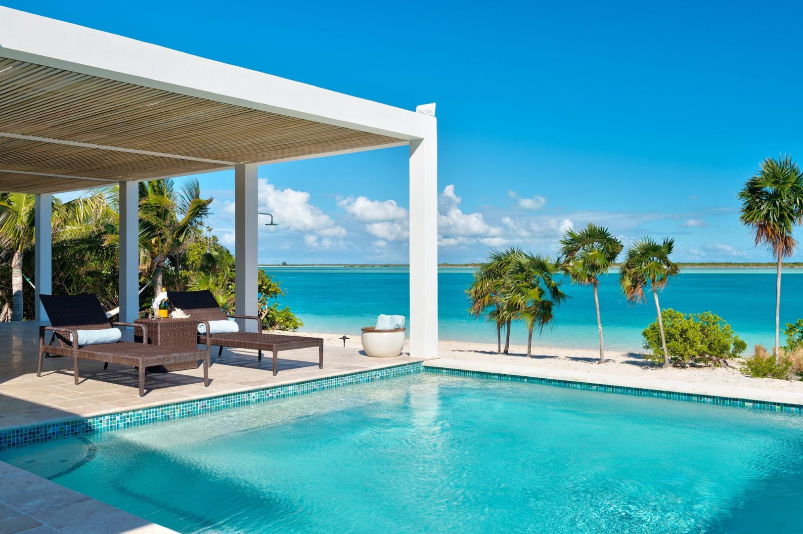 Villa Aquazure on Providenciales Turks and Caicos