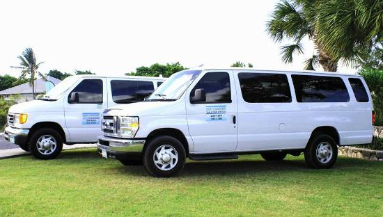 Taxis in Providenciales Turks and Caicos