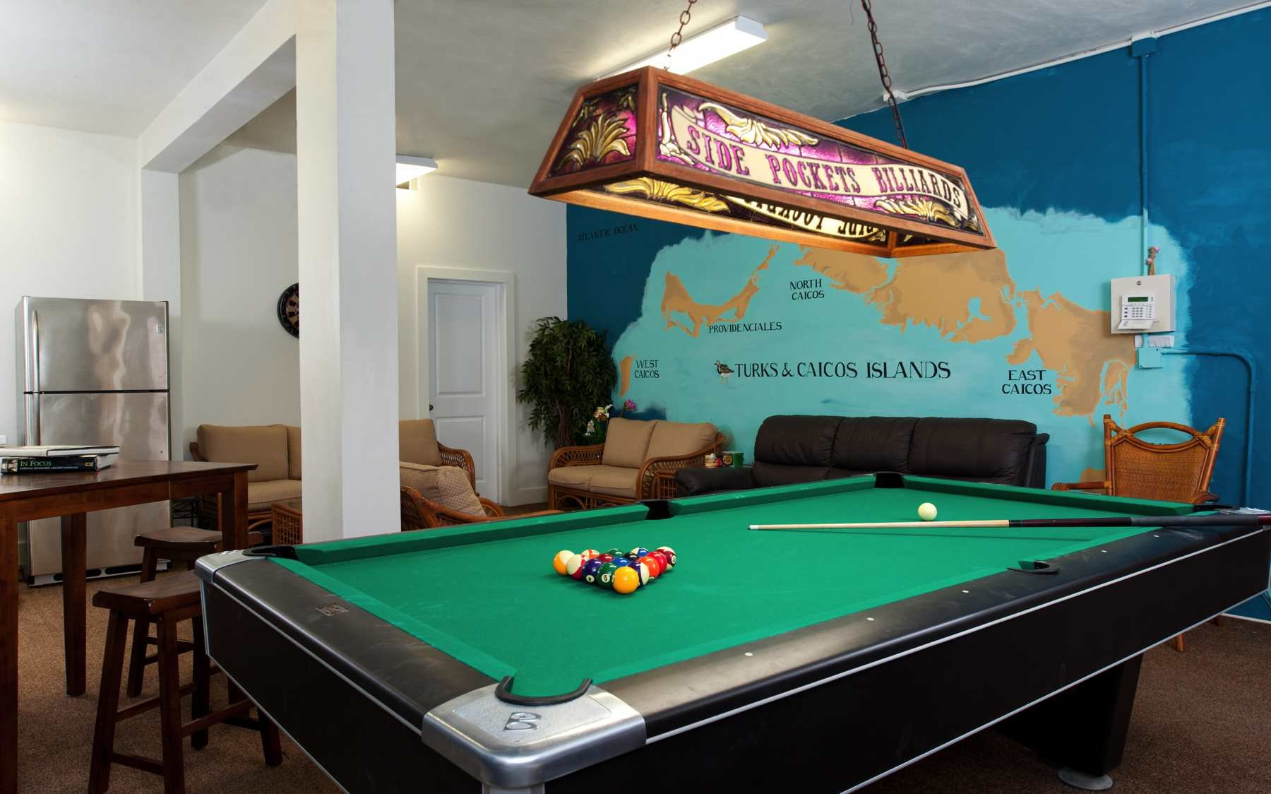 Reef Pearl Vacation Rental Turks Caicos TC Villas - Pool table jack rental