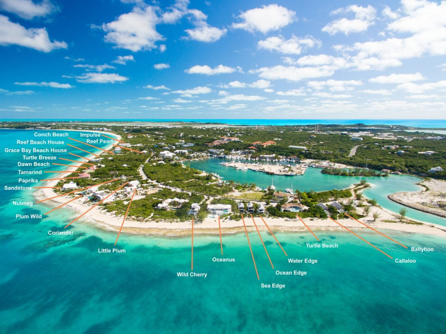 Beach Villa Sandstone Beachfront On Grace Bay Providenciales Turks And Caicos