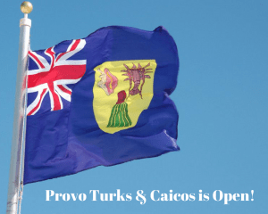 Provos Turks & Caicos is Open for Business
