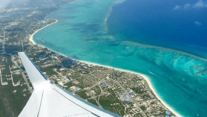 Aerial View of Turks and Caicos