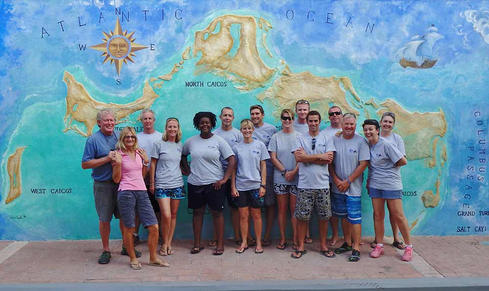 DiveProvo Staff in Providenciales Turks and Caicos