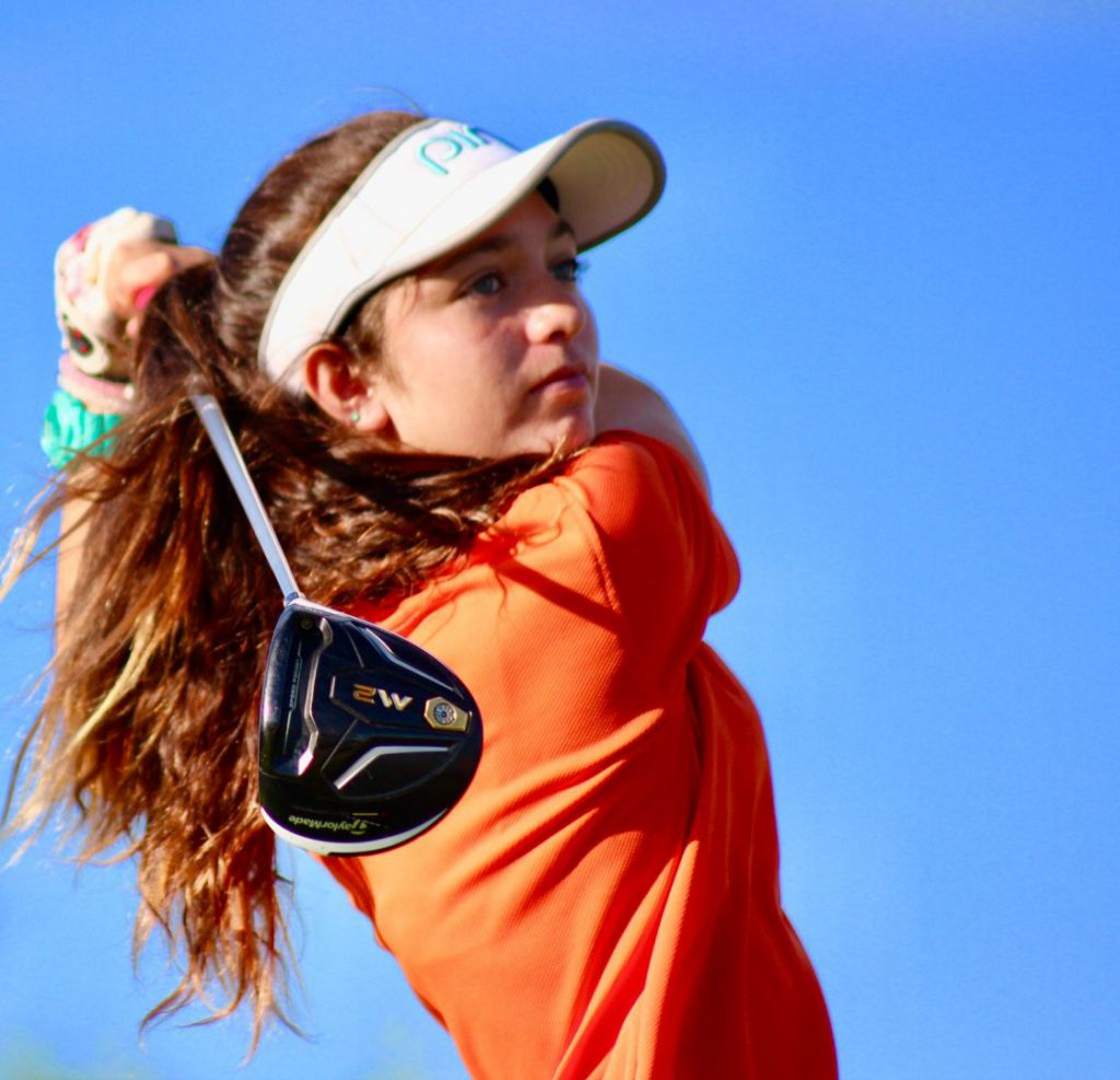 Agustina Junior Golfer of Turks and Caicos
