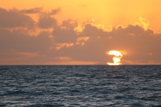 Sunrise at Long Bay Beach Providenciales Turks and Caicos
