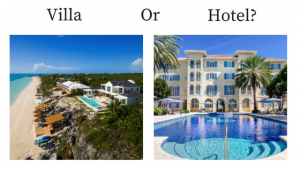 Villa or Hotel in the Turks and Caicos