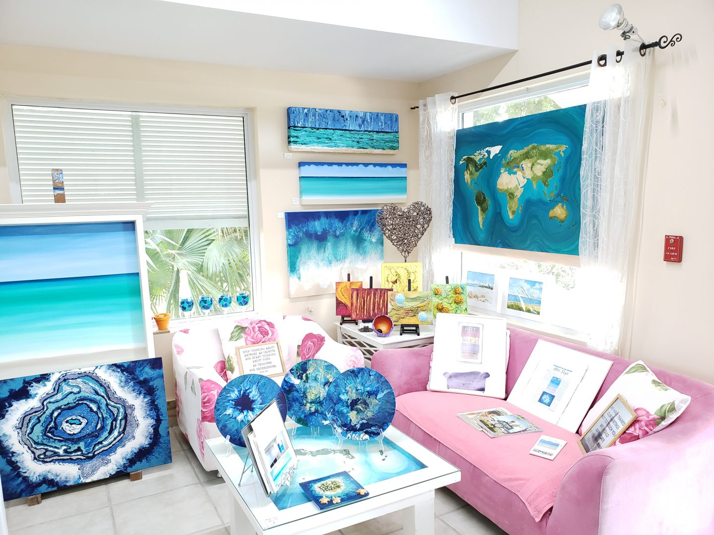 Making Waves Art Studio in Providenciales Turks and Caicos