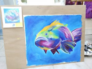 Private Lessons with Making Waves Art Studio in Providenciales