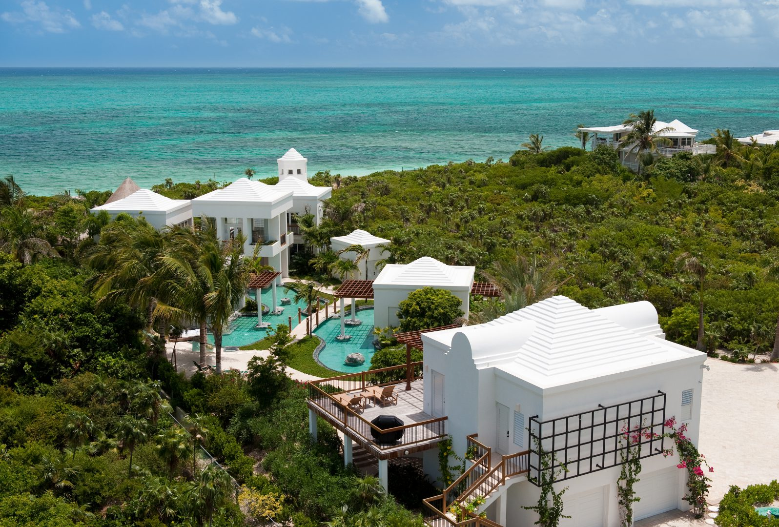 Turtle Breeze Villa Architecture in Turks and Caicos