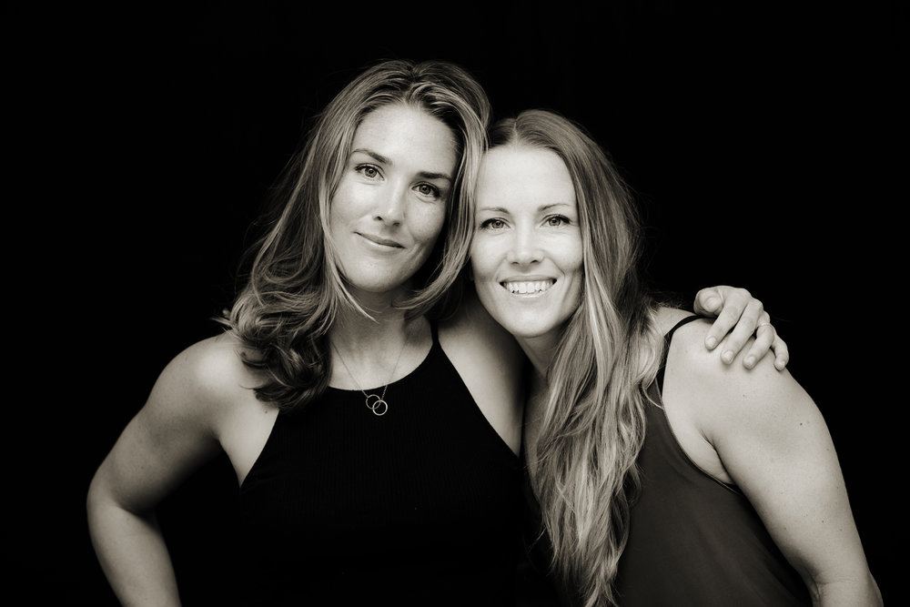 Lauray and Lindsay of Retreat Yoga and Retreat Kitchen in Providenciales