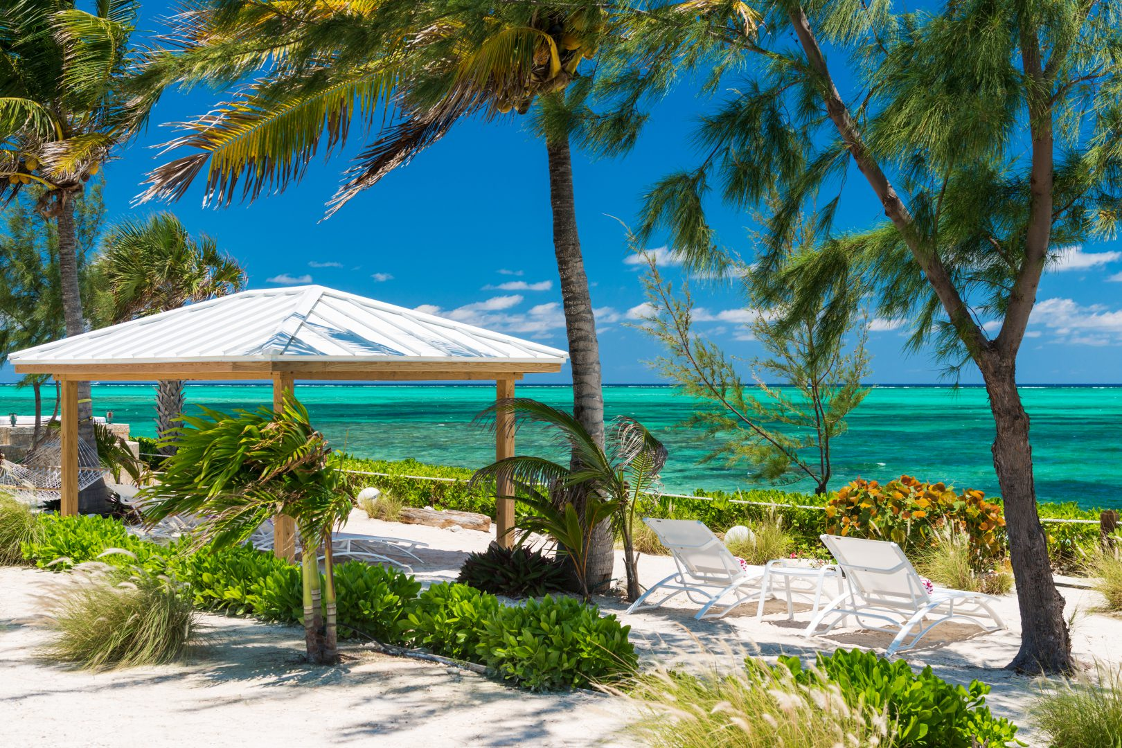 Reef Pearl Beach in Providenciales, Turks and Caicos