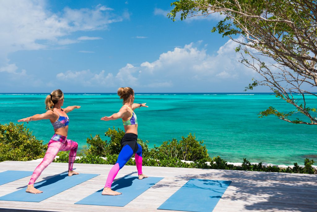 Yoga on the Beach with Retreat Yoga in Providenciales