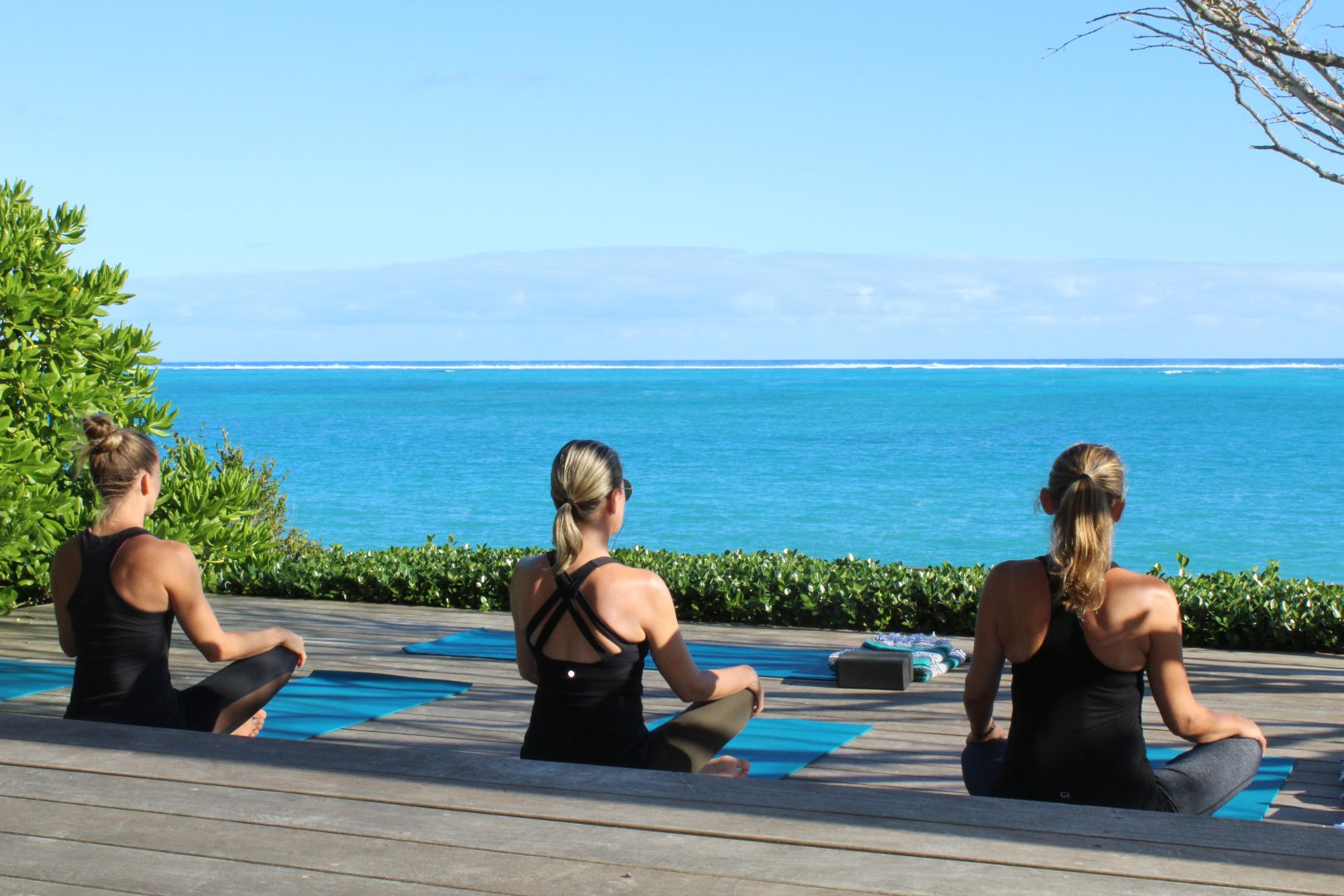 The Retreat Beach Yoga in Providenciales Turks and Caicos